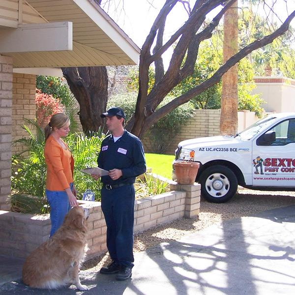 Sexton Residential Pest Control Services