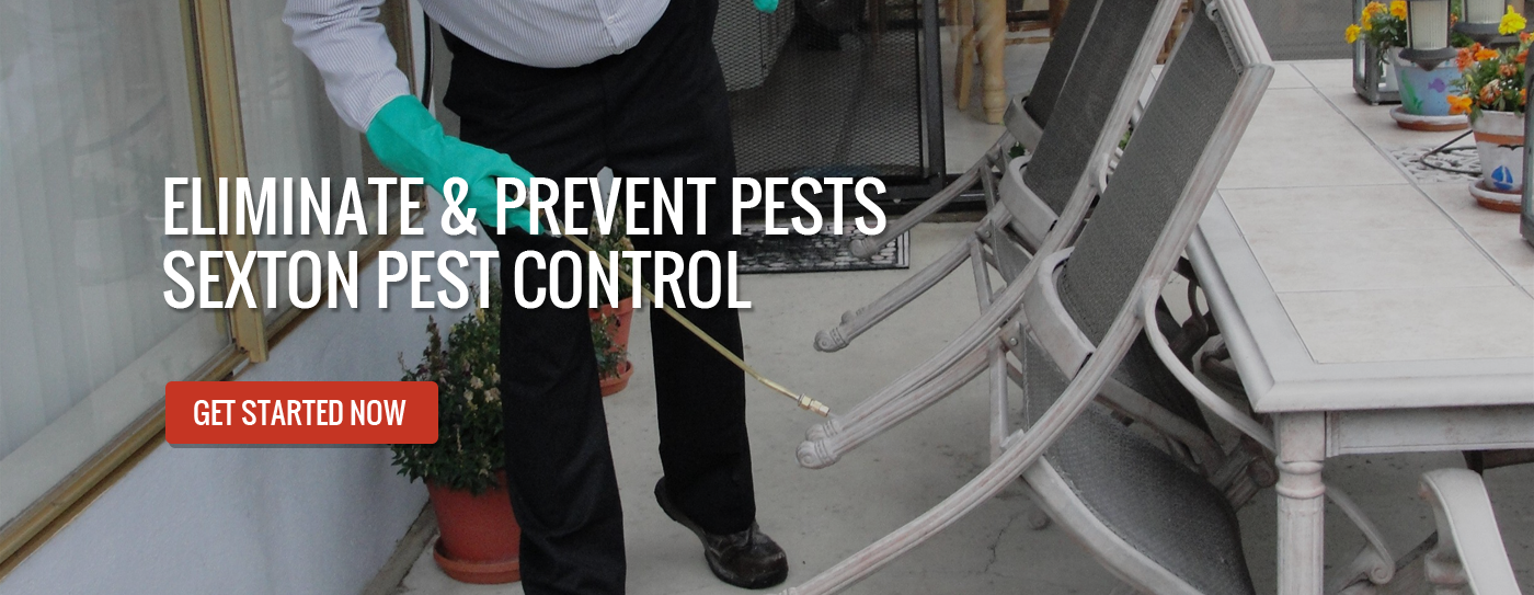 Sexton Pest Control Banner